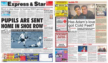 Express and Star Sandwell Edition – September 08, 2017