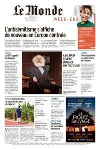 Le Monde du Samedi 21 Avril 2018