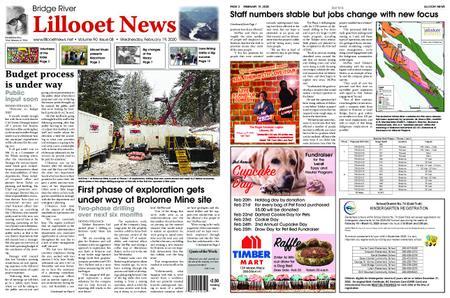 Bridge River Lillooet News – February 19, 2020