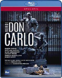 Gianandrea Noseda, Orchestra & Chorus of Teatro Regio Torino - Verdi: Don Carlo (2015) [Blu-Ray]