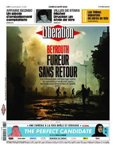 Libération - 10 août 2020