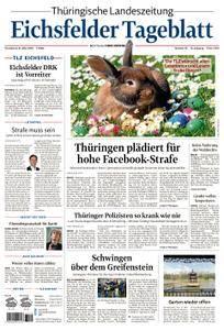 Thüringische Landeszeitung Eichsfelder Tageblatt - 31. März 2018
