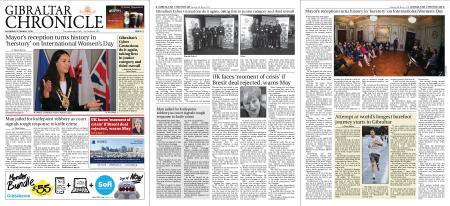 Gibraltar Chronicle – 09 March 2019