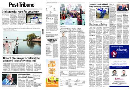 Post-Tribune – January 08, 2020