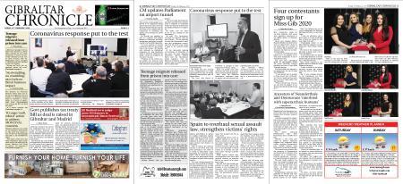 Gibraltar Chronicle – 21 February 2020