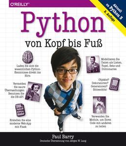 «Python von Kopf bis Fuß» by Paul Barry