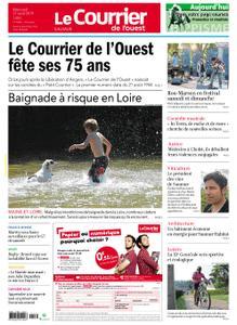 Le Courrier de l'Ouest Saumur – 21 août 2019