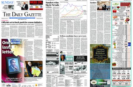 The Daily Gazette – February 23, 2020