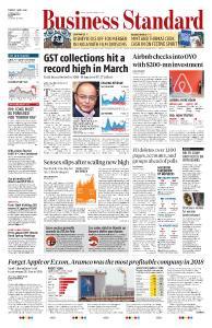 Business Standard - April 2, 2019