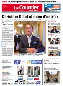 Le Courrier de l'Ouest Angers – 21 juin 2021