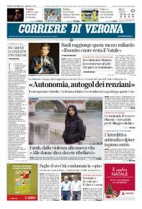 Corriere di Verona – 20 dicembre 2019