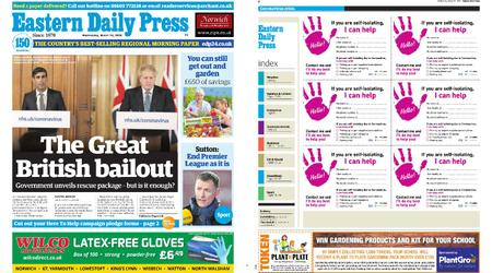 Eastern Daily Press – March 18, 2020
