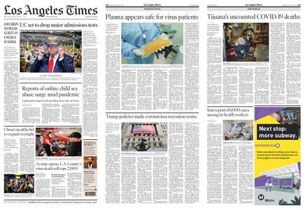 Los Angeles Times – May 22, 2020