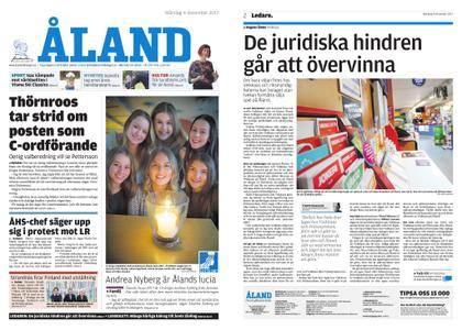 Ålandstidningen – 04 december 2017