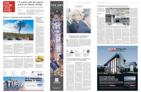 The Globe and Mail – October 09, 2018