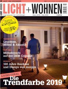 Licht und Wohnen - März-Mai 2019