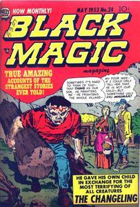 Black Magic 024 (1953) (Prize) (c2c) (Gremlin