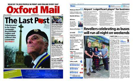 Oxford Mail – June 08, 2018
