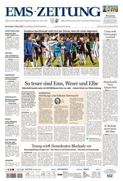Ems-Zeitung - 9 Februar 2017