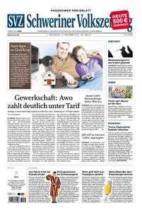 Schweriner Volkszeitung Hagenower Kreisblatt - 10. Oktober 2018