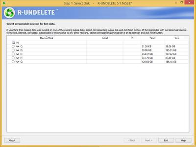 R-Undelete 5.1 Build 165337 Multilingual Portable