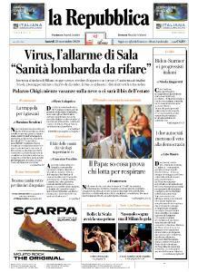 la Repubblica - 23 Novembre 2020