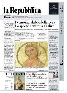la Repubblica - 14 Agosto 2018