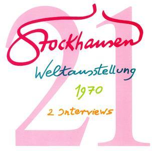 Karlheinz Stockhausen - Text-CD 21 - Weltasstellung 1970 (2008) {Stockhausen-Verlag}
