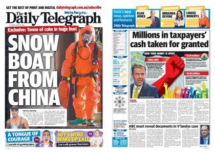 The Daily Telegraph (Sydney) – August 18, 2020