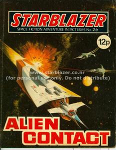 Starblazer 026 - Alien Contact (1980) (PDFrip