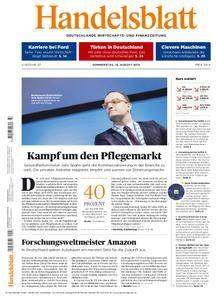 Handelsblatt - 16. August 2018