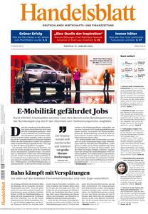 Handelsblatt - 13. Januar 2020
