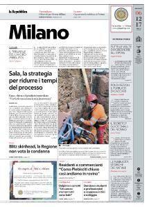 la Repubblica Milano - 6 Dicembre 2017