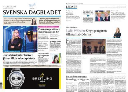 Svenska Dagbladet – 18 december 2018