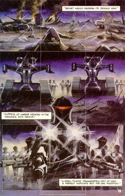 Alex Ross Terminator - The Burning Earth
