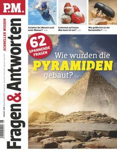 P.M. Fragen & Antworten - August 2019