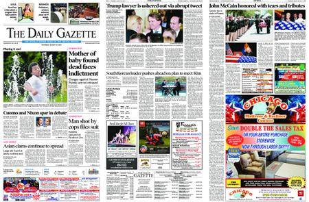 The Daily Gazette – August 30, 2018
