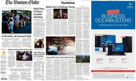 The Boston Globe – August 26, 2019