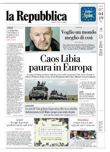 la Repubblica - 7 Aprile 2019