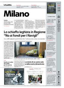 la Repubblica Milano - 19 Dicembre 2018