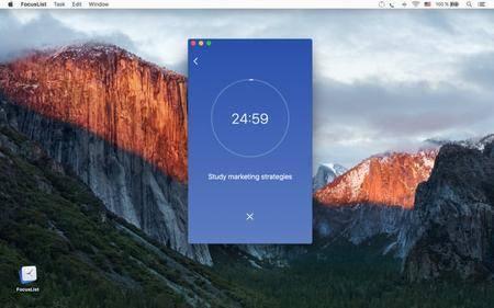 FocusList 1.0.8 Mac OS X