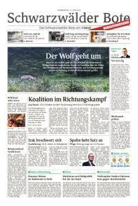 Schwarzwälder Bote Hechingen - 14. Juni 2018