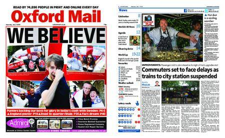 Oxford Mail – July 07, 2018