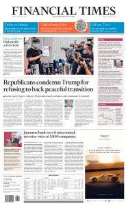 Financial Times USA - September 25, 2020