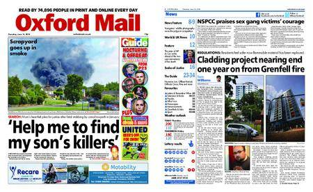 Oxford Mail – June 14, 2018
