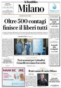 la Repubblica Milano - 7 Maggio 2020