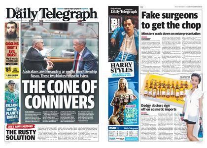 The Daily Telegraph (Sydney) – November 03, 2017