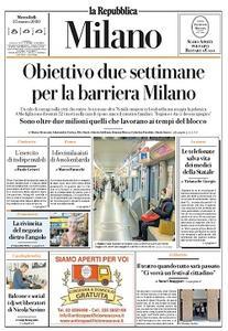 la Repubblica Milano - 25 Marzo 2020