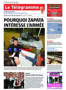 Le Télégramme Concarneau – 05 août 2019