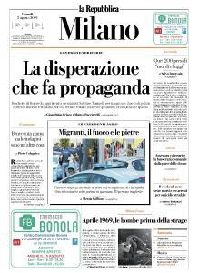 la Repubblica Milano - 5 Agosto 2019